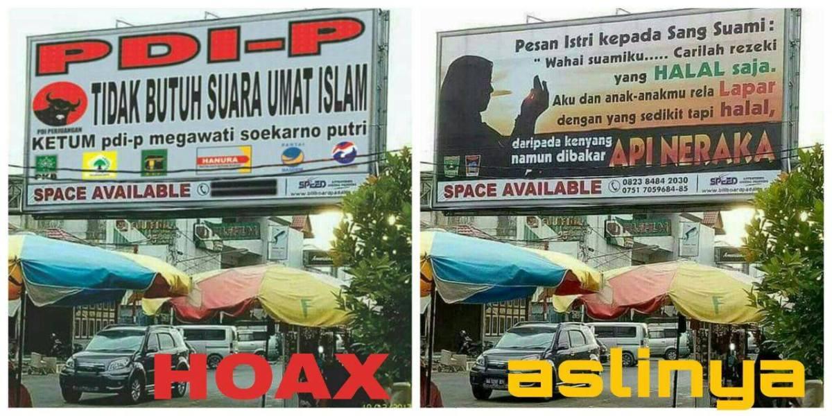 "Posting Hoax ""PDIP Tidak Butuh Suara Umat Islam"", Ibu Muda Ditangkap Polisi."