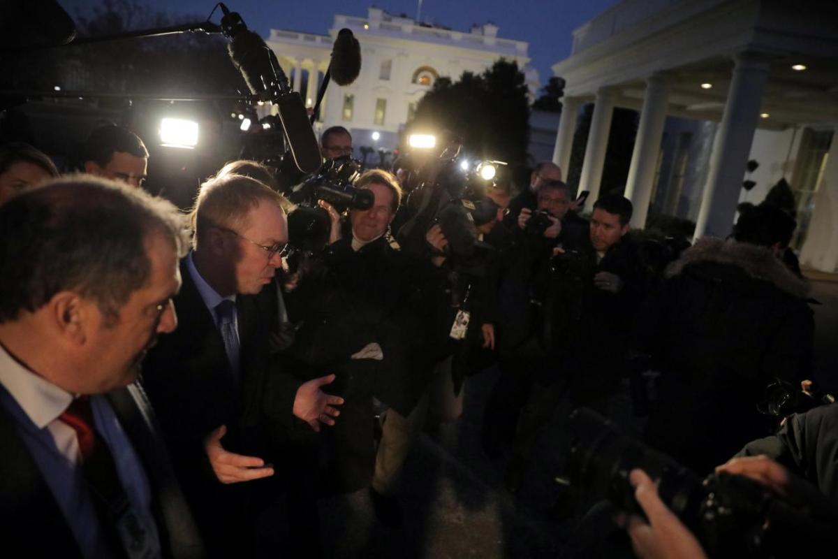 Pemerintah AS Shut Down Karena Donald Trump Tidak Tahu Apa Yang Dia Lakukan