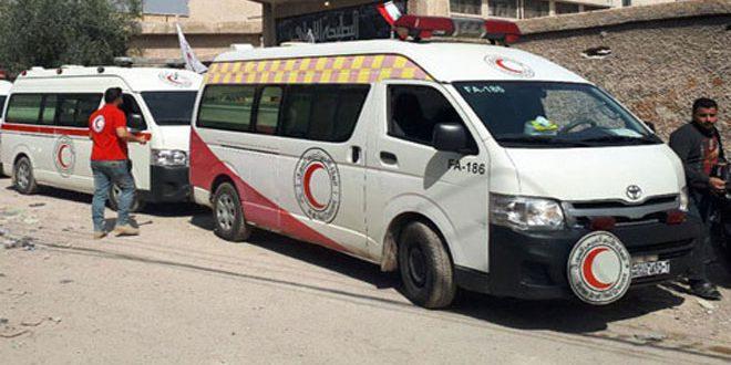 Koridor Kemanusiaa Ghouta Timur dan Badan Kemanusiaa Bulan Sabit Merah.jpg