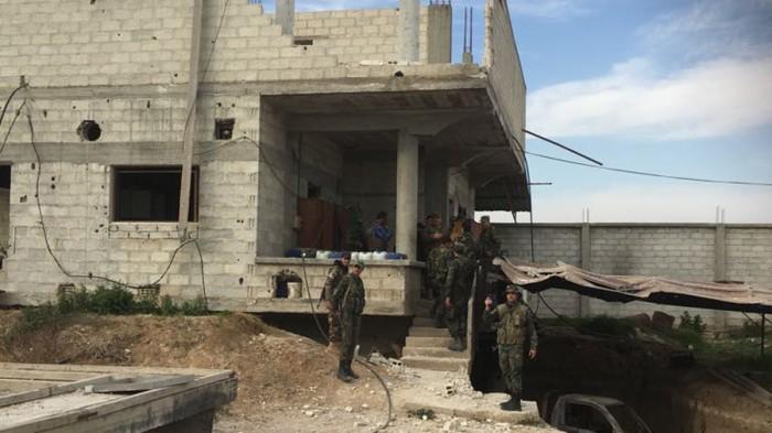 Laboratorium Kimia di Ghouta Timur