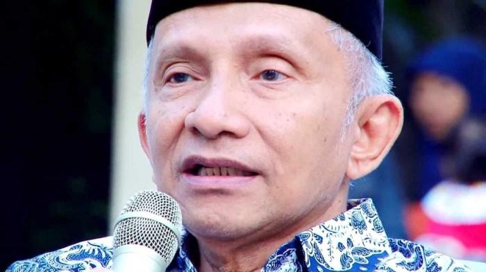 Dikotomikan Partai Setan dan Partai Allah di Indonesia, Amien Rais Dianggap Bikin Kacau