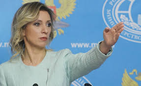 juru bicara Kementerian Luar Negeri Rusia Maria Zakharova