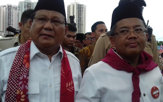 Prabowo dan Sohibul Iman