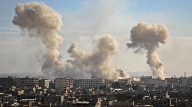 Suriah di serang AS dan Inggris Dengan Alasan Klasik Senjata Kimia.jpeg