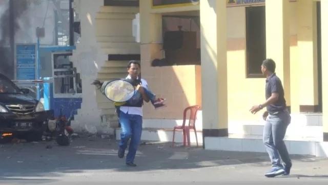 Bom polrestabes Surabaya