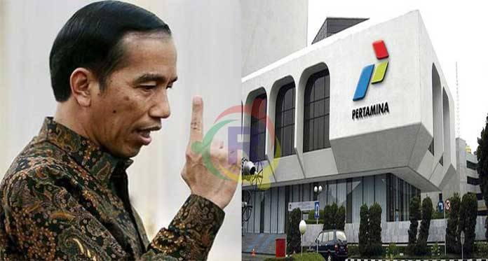 Jokowi - Pertamina