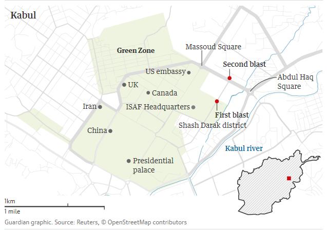Peta Serangan ISIS Terhadap Wartawan di Afghanistan Menewaskan 10 Wartawan.png