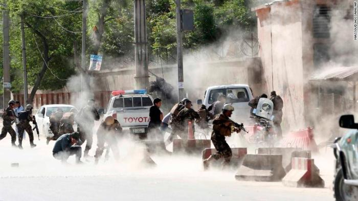 Serangan ISIS di Afghanistan Menewaskan 36 Wartawan.jpg