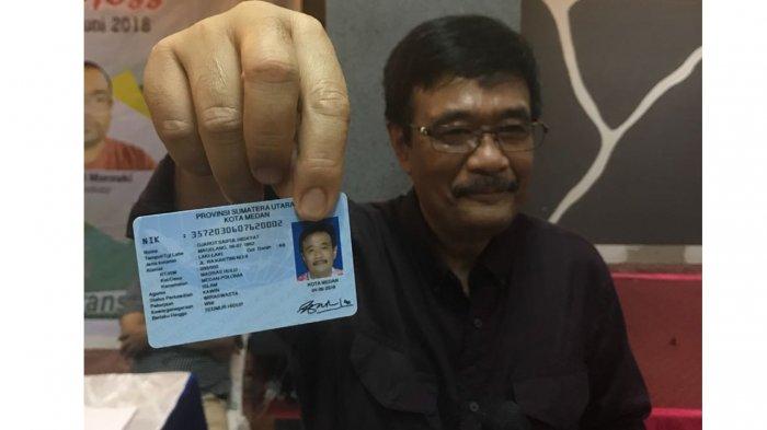 Djarot Saiful Hidayat dan e-KTP nya