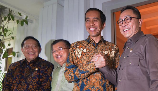 Jokowi dan Zulkifli Hasan PAN