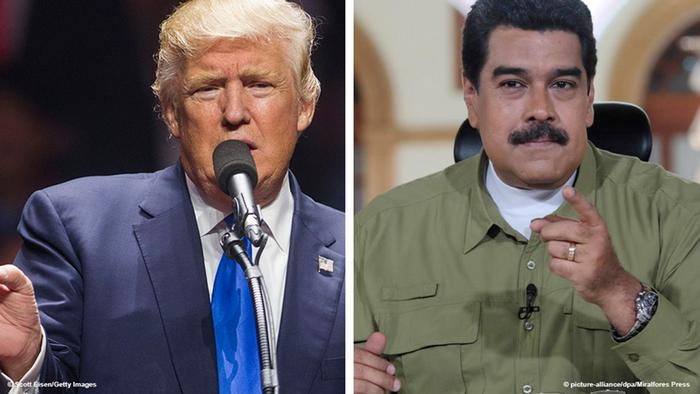 Nicolas Maduro and Trump