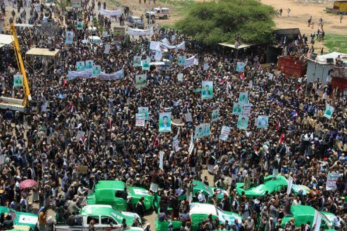 Protes Seranga thdp Anak2 Yaman