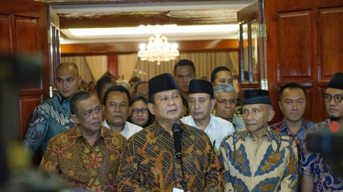 Prabowo Jumpa Pers