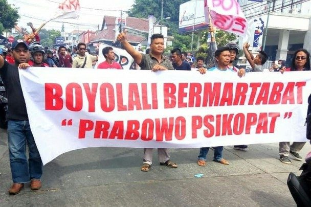 Boyolali demo